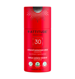 Attitude Attitude - Sunscreen Stick, Unscented (85g)
