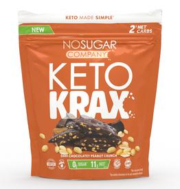 Vegan Pure No Sugar - Keto Krax, Chocolatey Peanut Crunch (245g)
