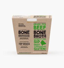 Borderland Bone Brewhouse - Bone Broth, Grass Fed Beef (600ml)