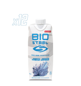Biosteel Electrolytes, Sports Drink, White Freeze (500ml))