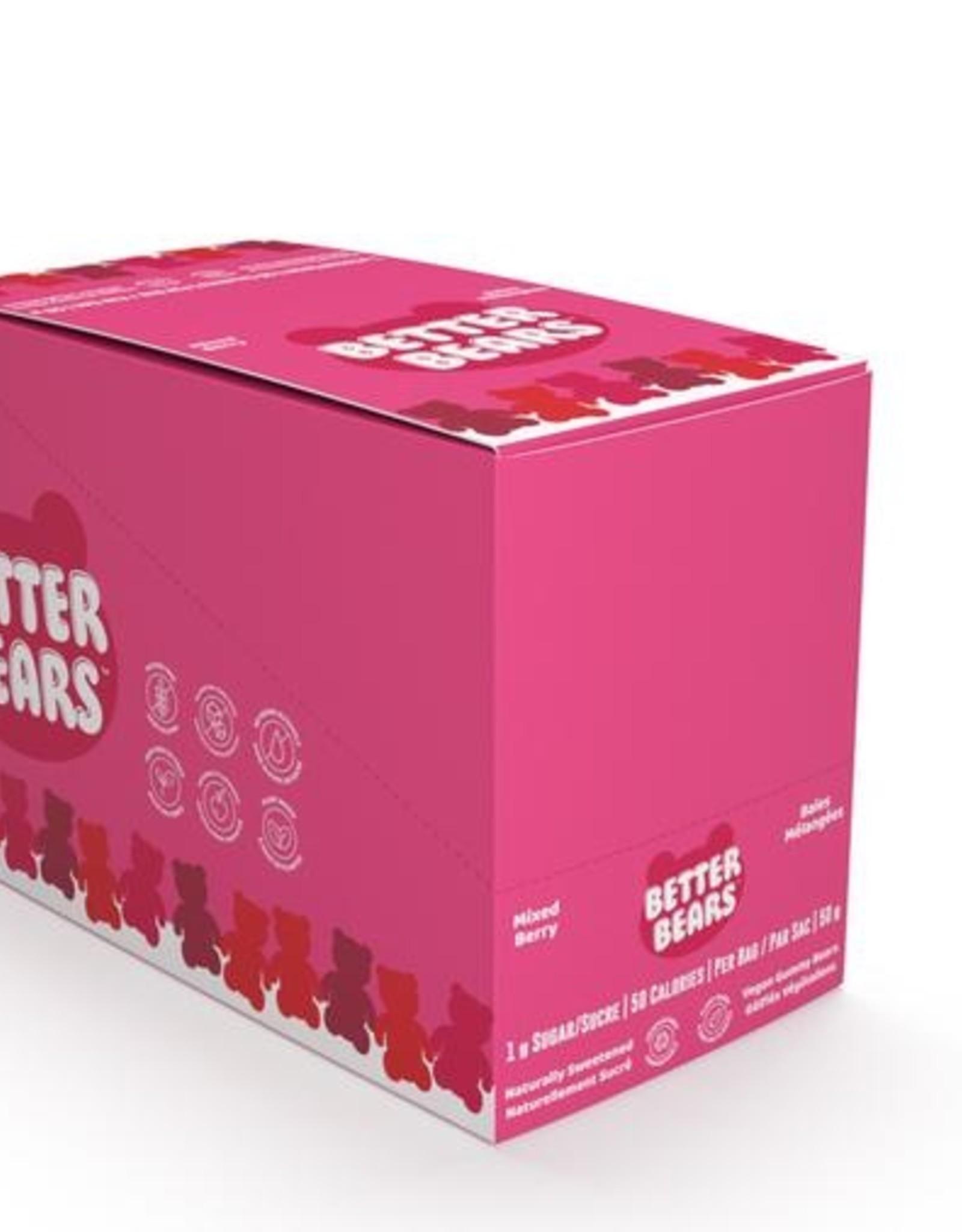 Better Bears Better Bears - Gummy Bears, Mixed Berry (12p)