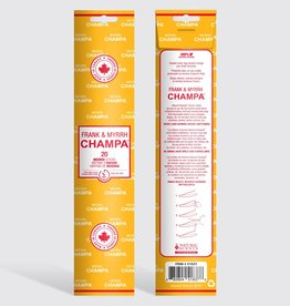 Champa - Incense, Frank & Myrrh