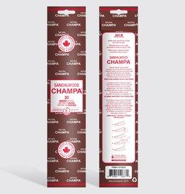 Champa - Incense, sandalwood