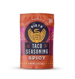 Siete Siete - Taco Seasoning, Spicy (37g)
