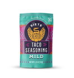Siete Siete - Taco Seasoning, Mild (37g)