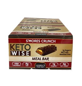 Ketowise Ketowise - Meal Bar, Smores Crunch (32g)