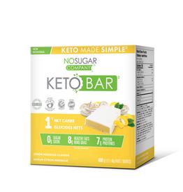 Vegan Pure Vegan Pure - Keto Bar, Lemon Meringue - CASE