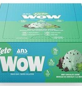 ANS - Keto Bar, Mint Chocolate Chunk (box of 12)