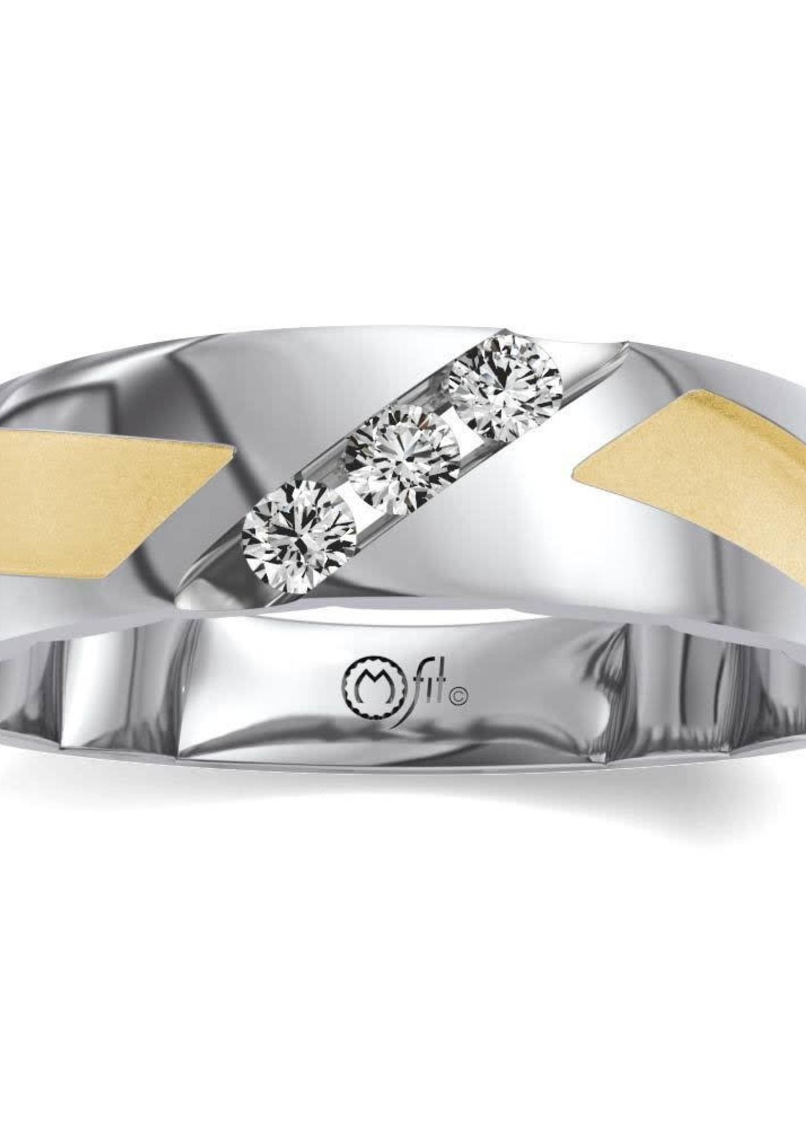 Merit Diamond Corp MFit 10k YW 0.25ctw 10.5 JVG2423AR5JU