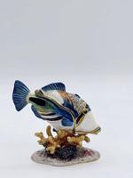 Quality Gold Giftware Huma Fish Box