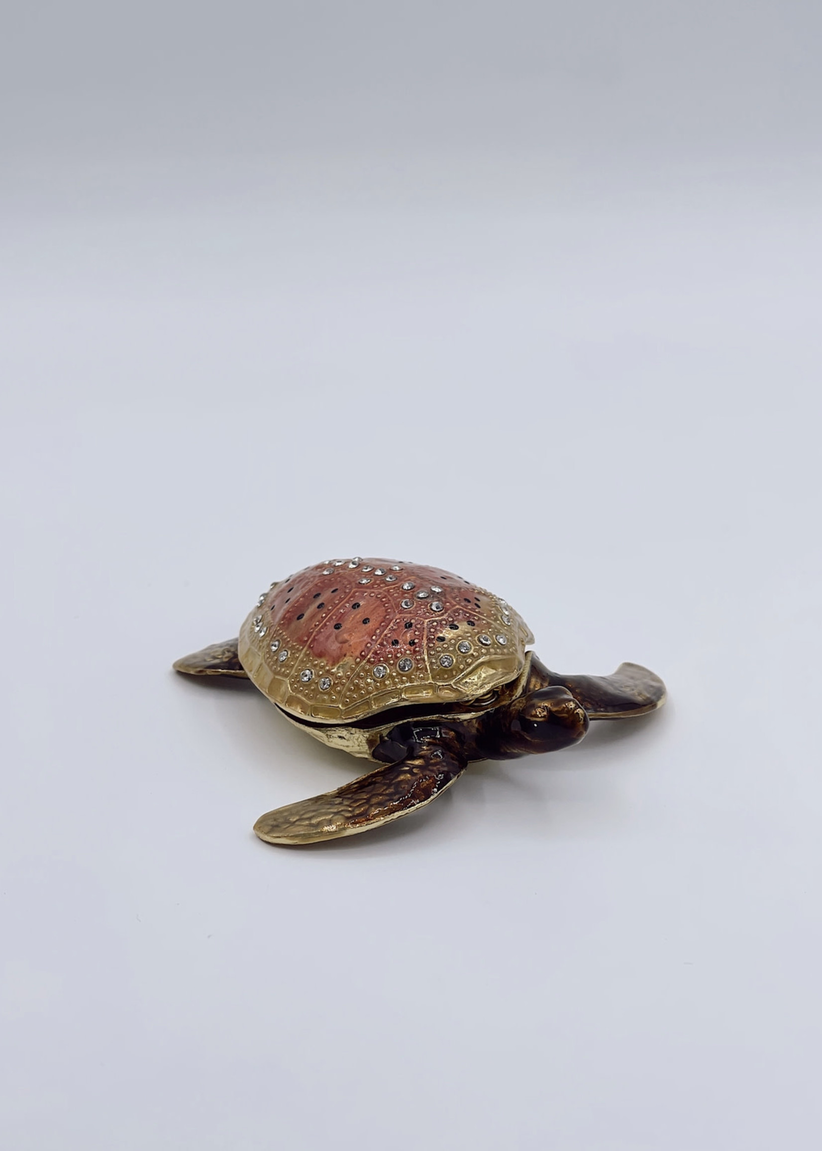 Quality Gold Turtle Giftware Box