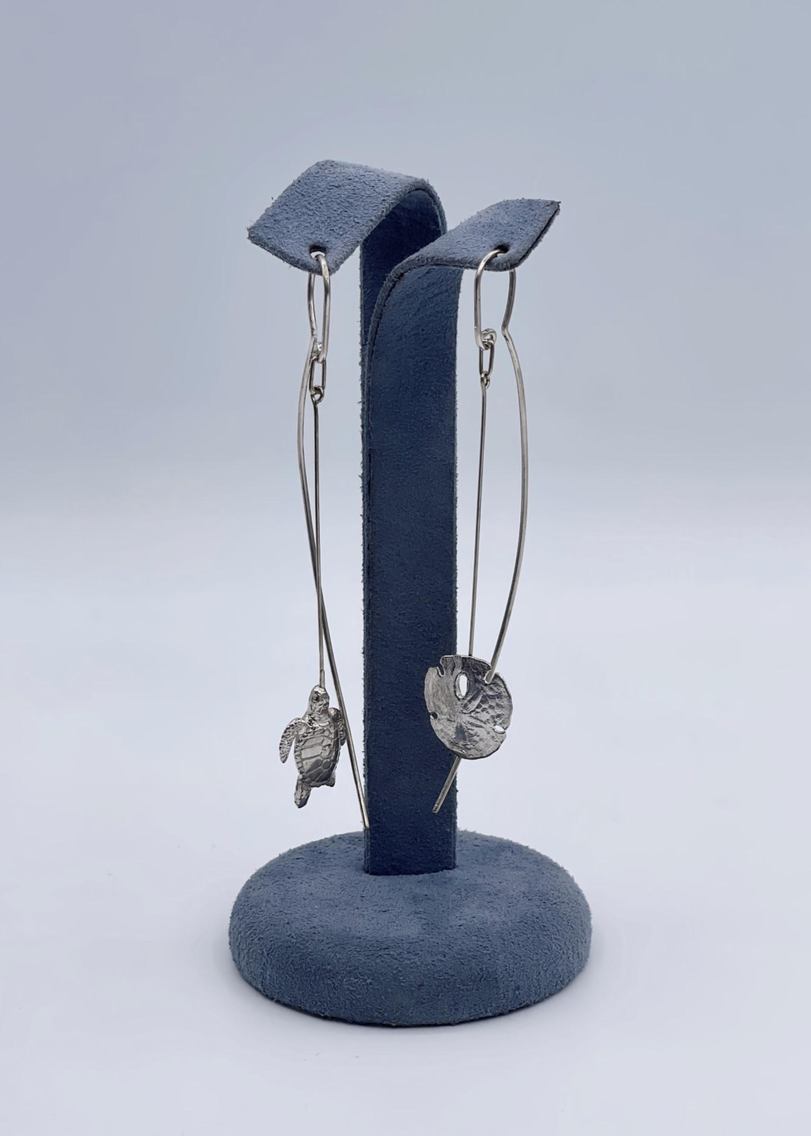 CJ Designs Sea Life Drop Earrings