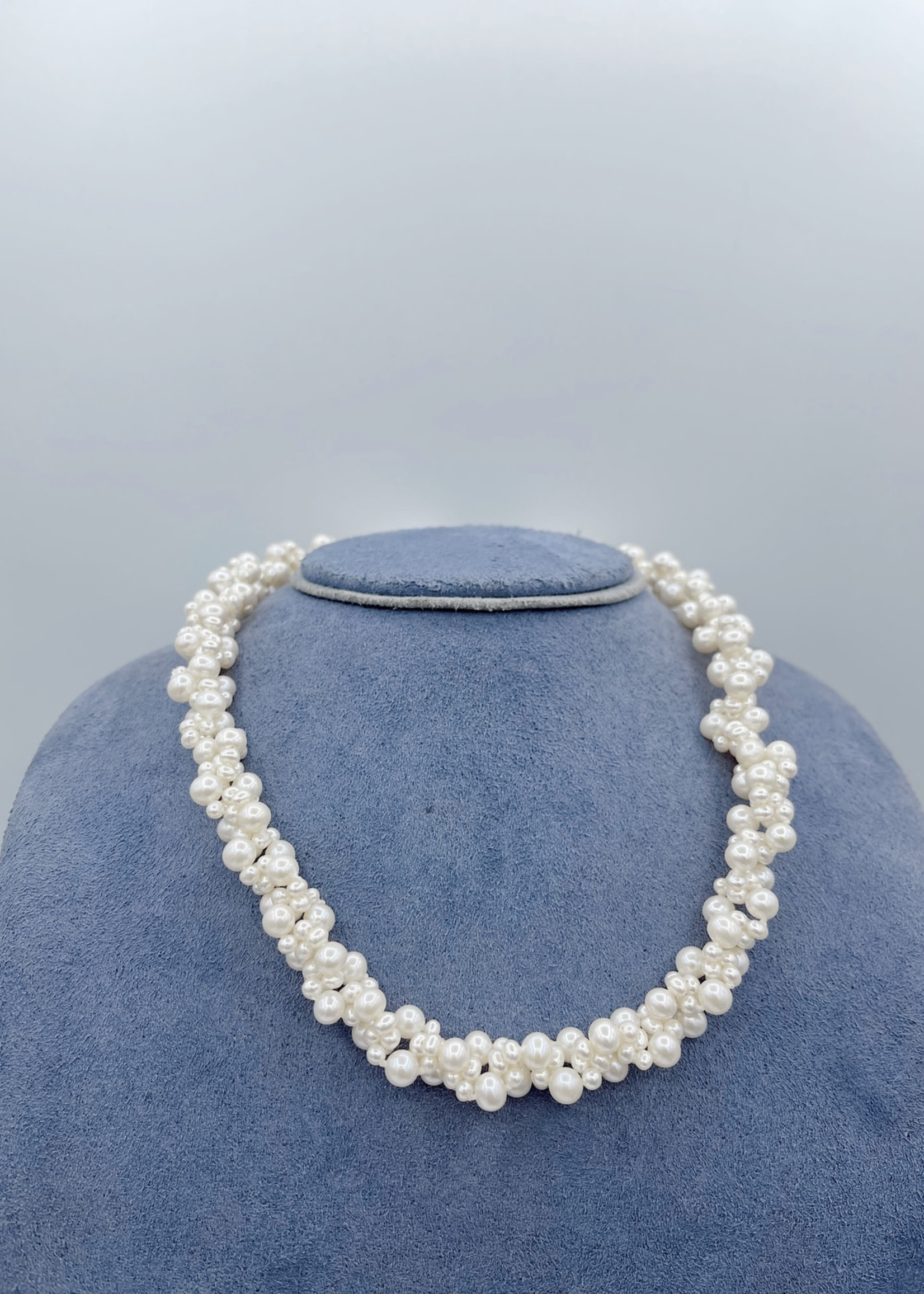 Mastoloni Pearls Fresh Water Pearl Necklace 14k Yellow with 3.5-5mm