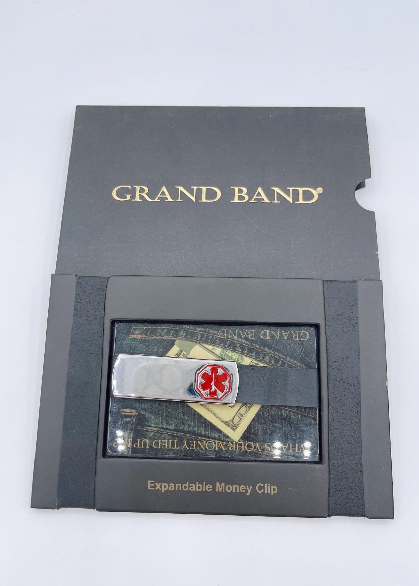 Grand Band Expandable Money Clip