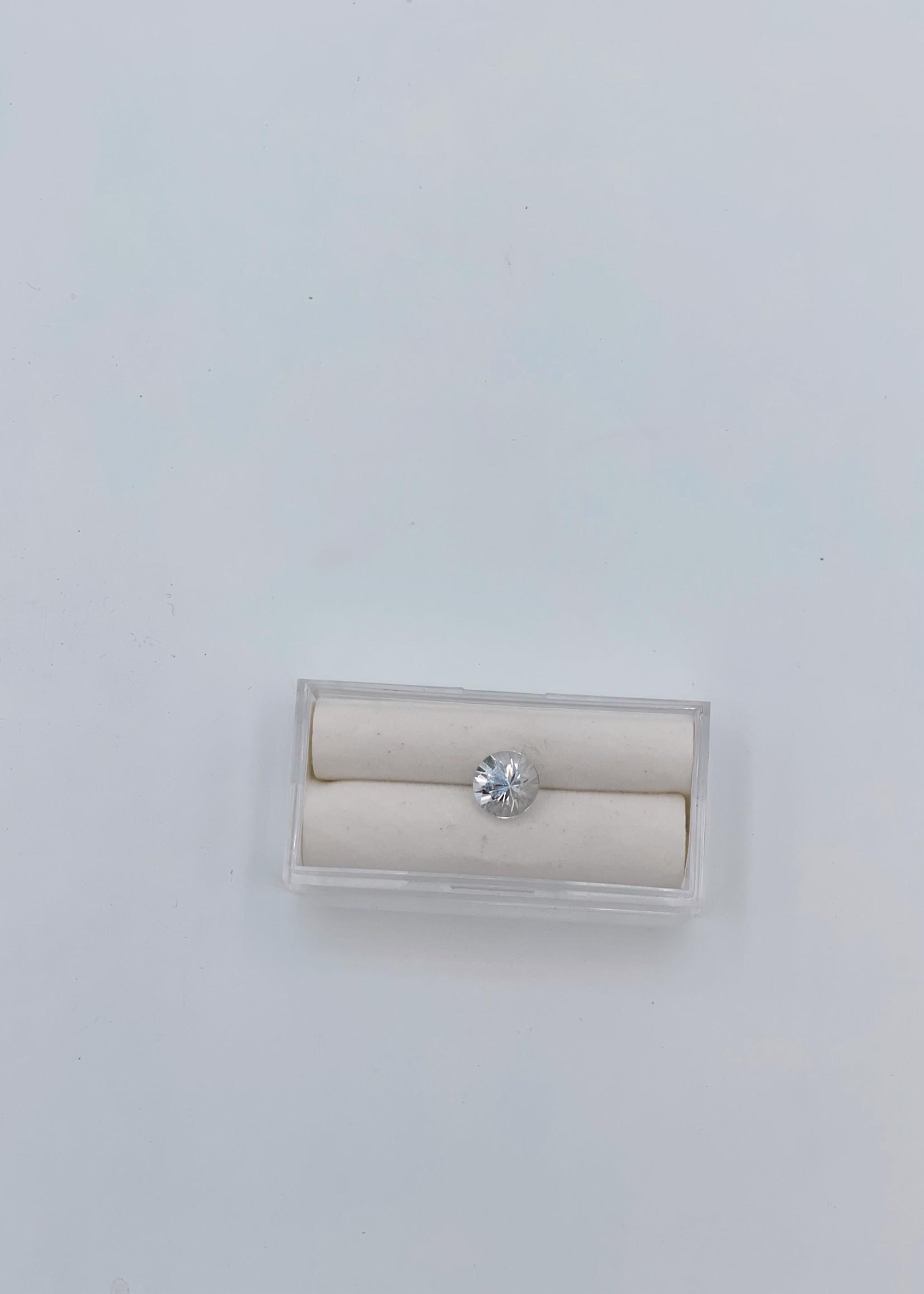 CJ Designs White Sapphire Round 2.49ct