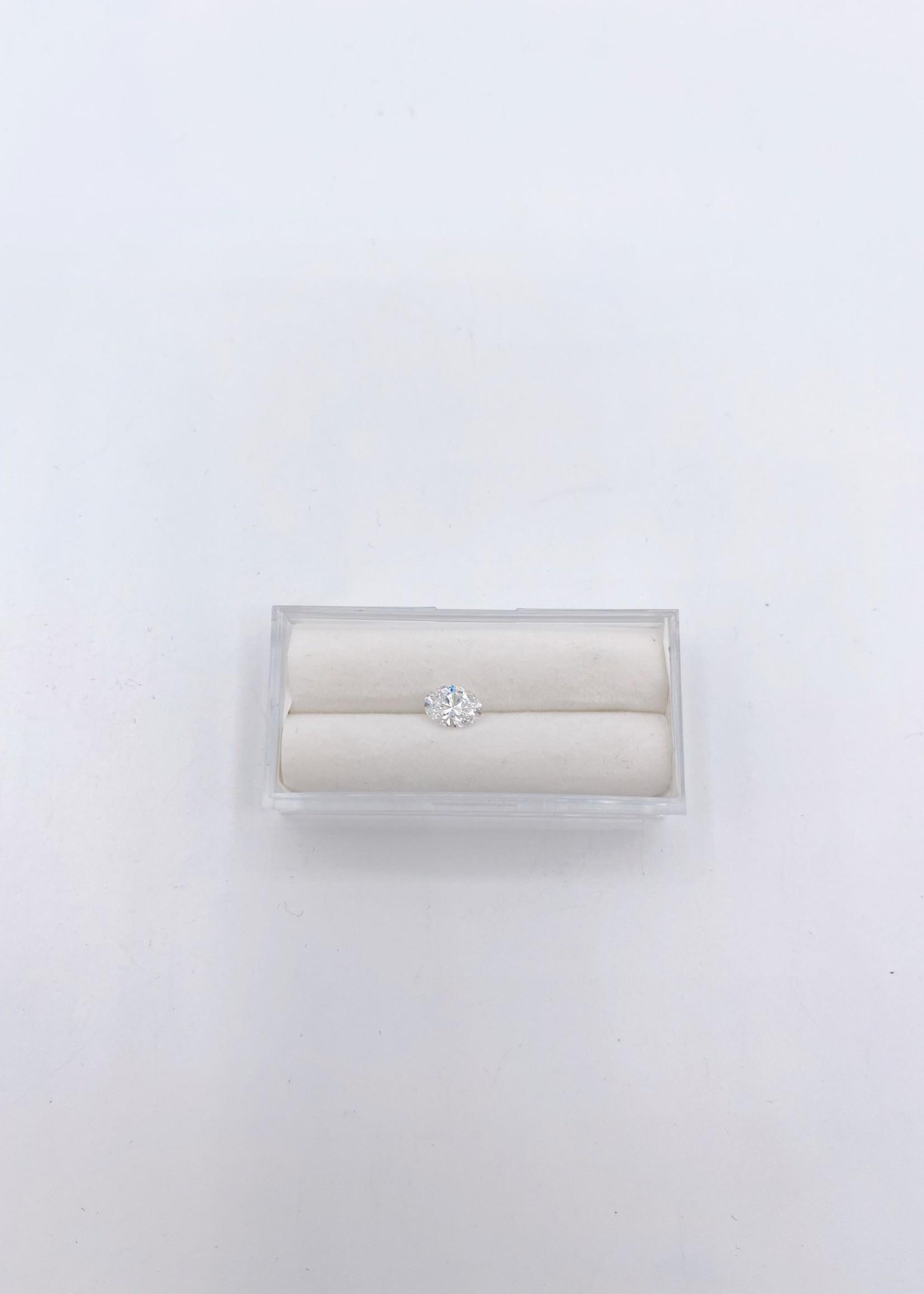 Lannyte Lannyte Pear Cut 1.43ct 8x5mm White