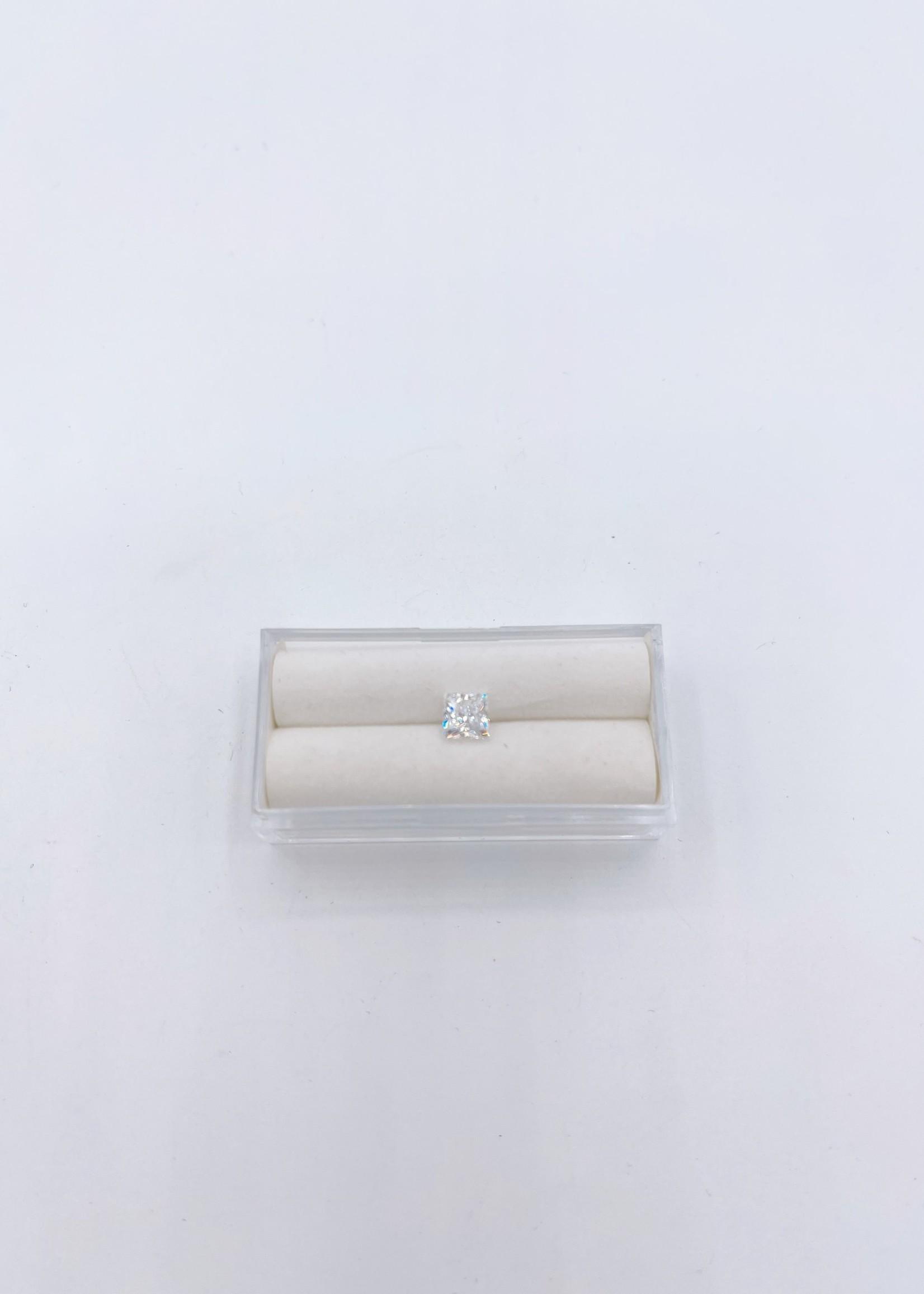 Lannyte Lannyte Princess Cut 1.91ct 5.5mm White