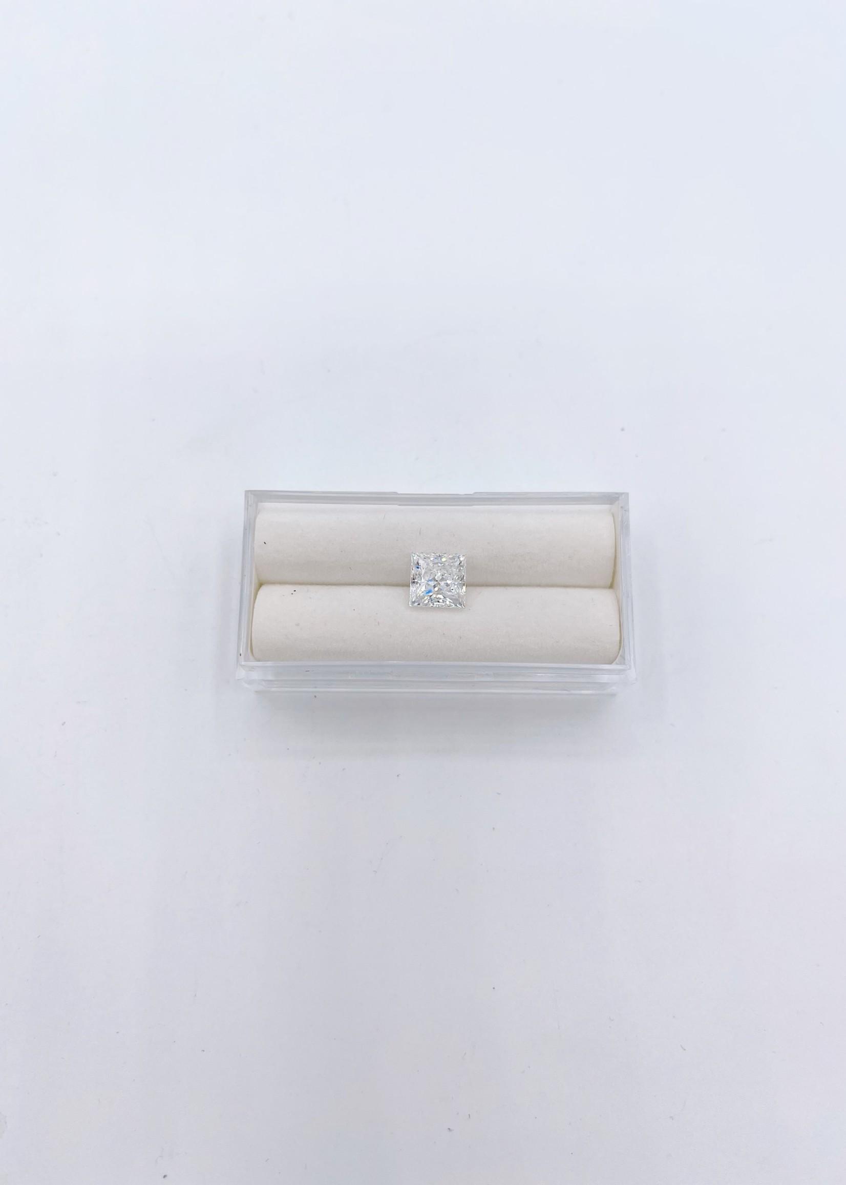 Lannyte Lannyte Princess Cut 3.87ct 7mm White