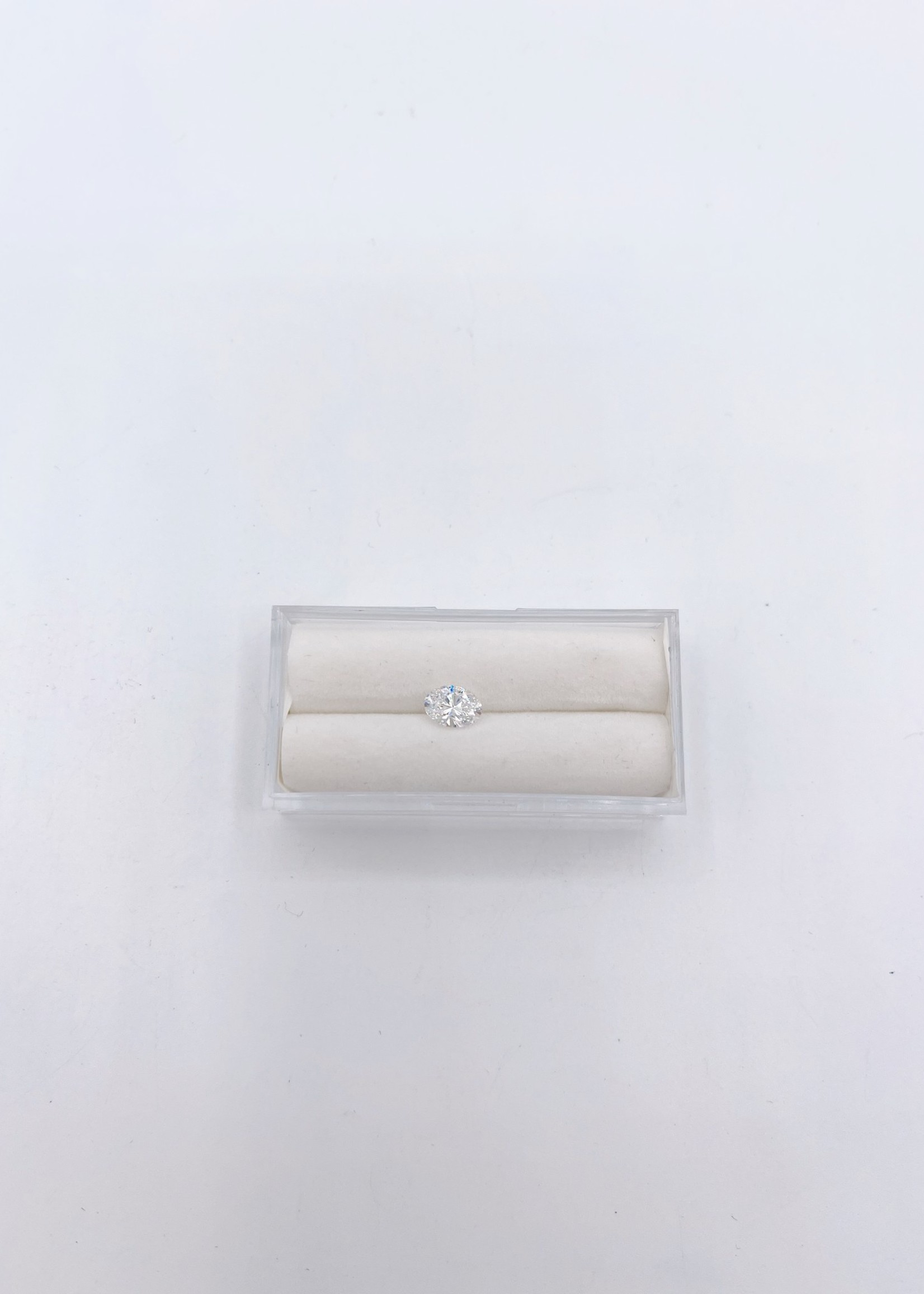 Lannyte Lannyte Oval Cut 1.17ct 7x5mm White