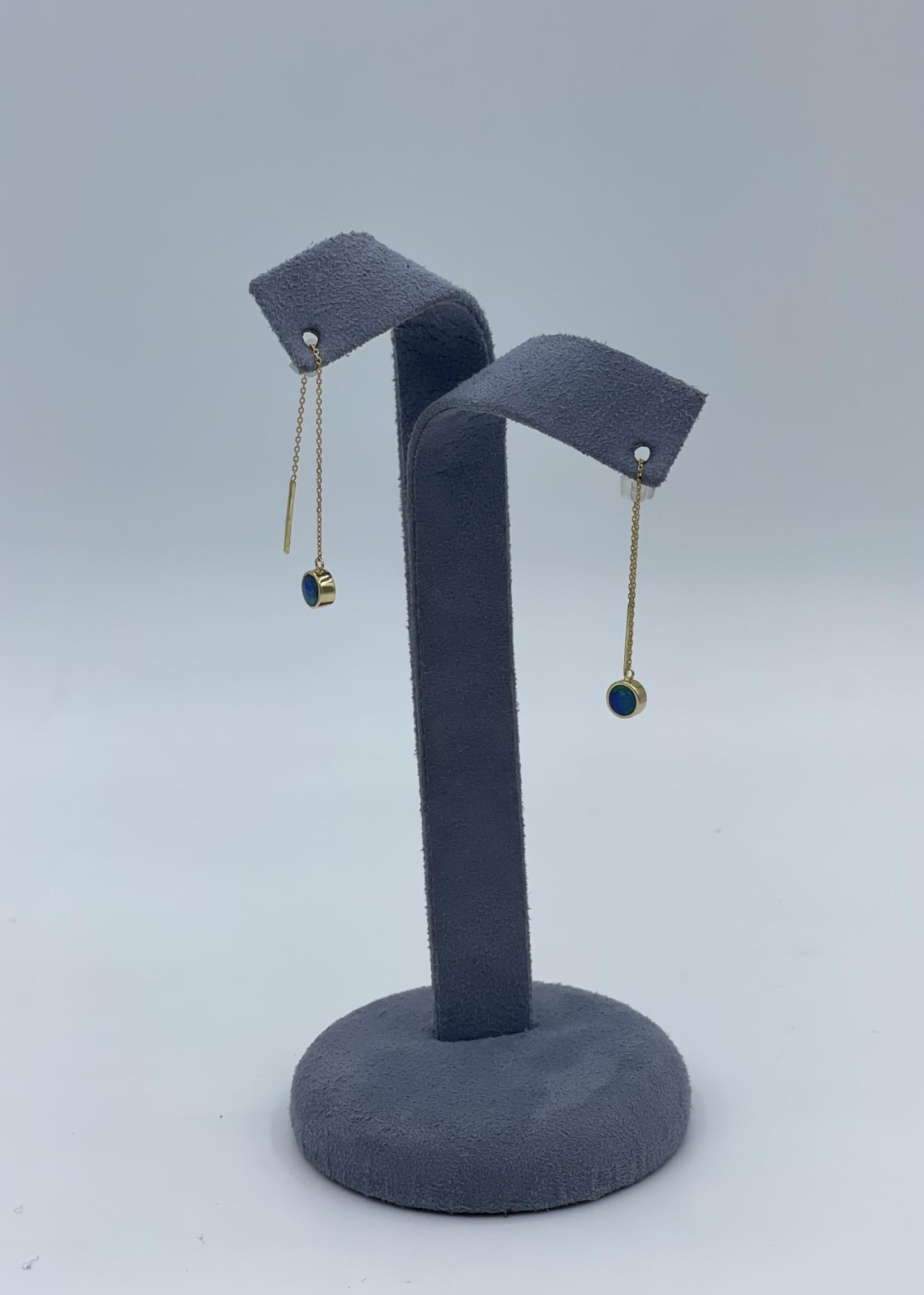 14kY Opal Earrings