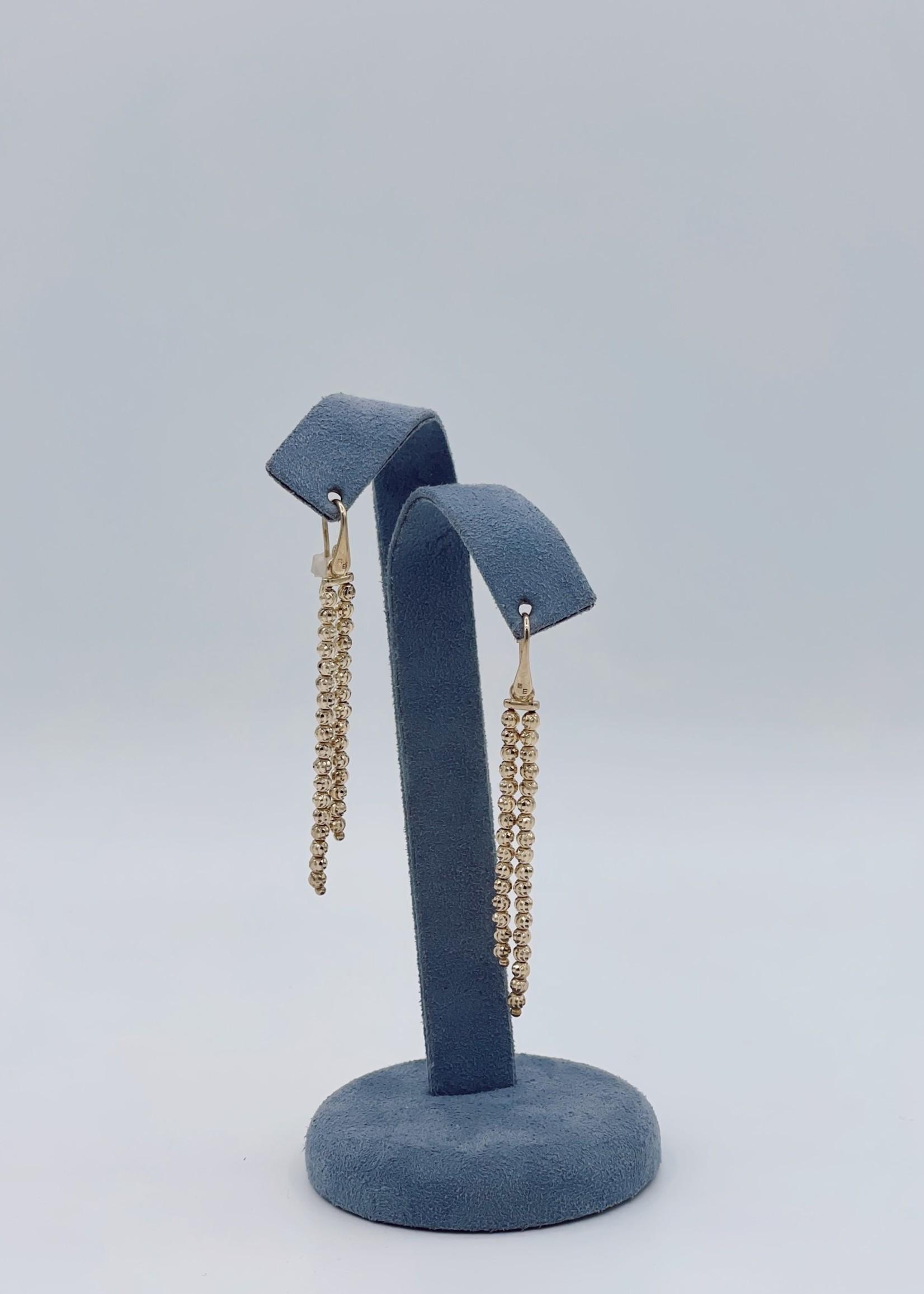 Officina Bernardi Dangle Earrings SS Yellow