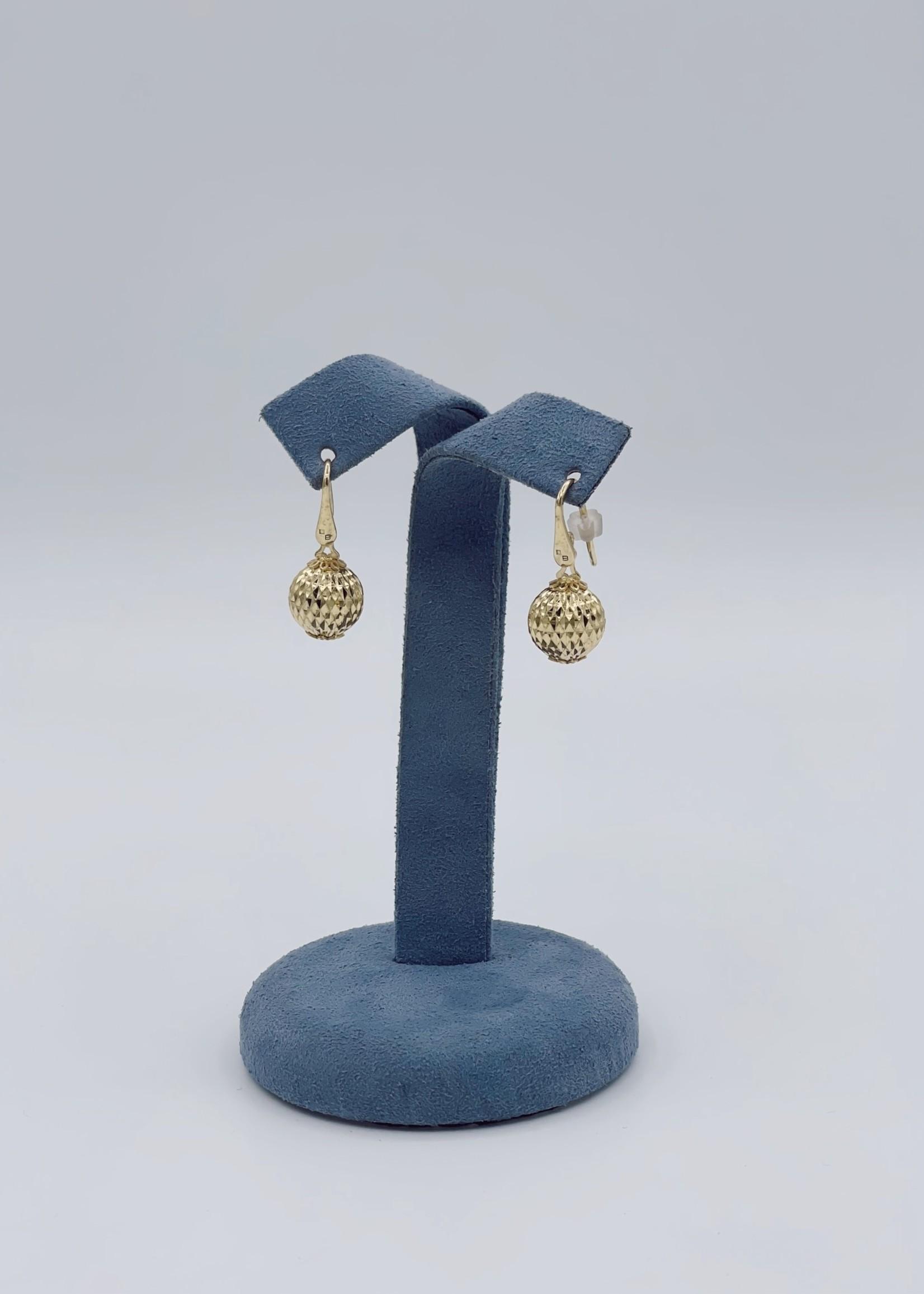 Officina Bernardi Drop Y SS Ball Earrings