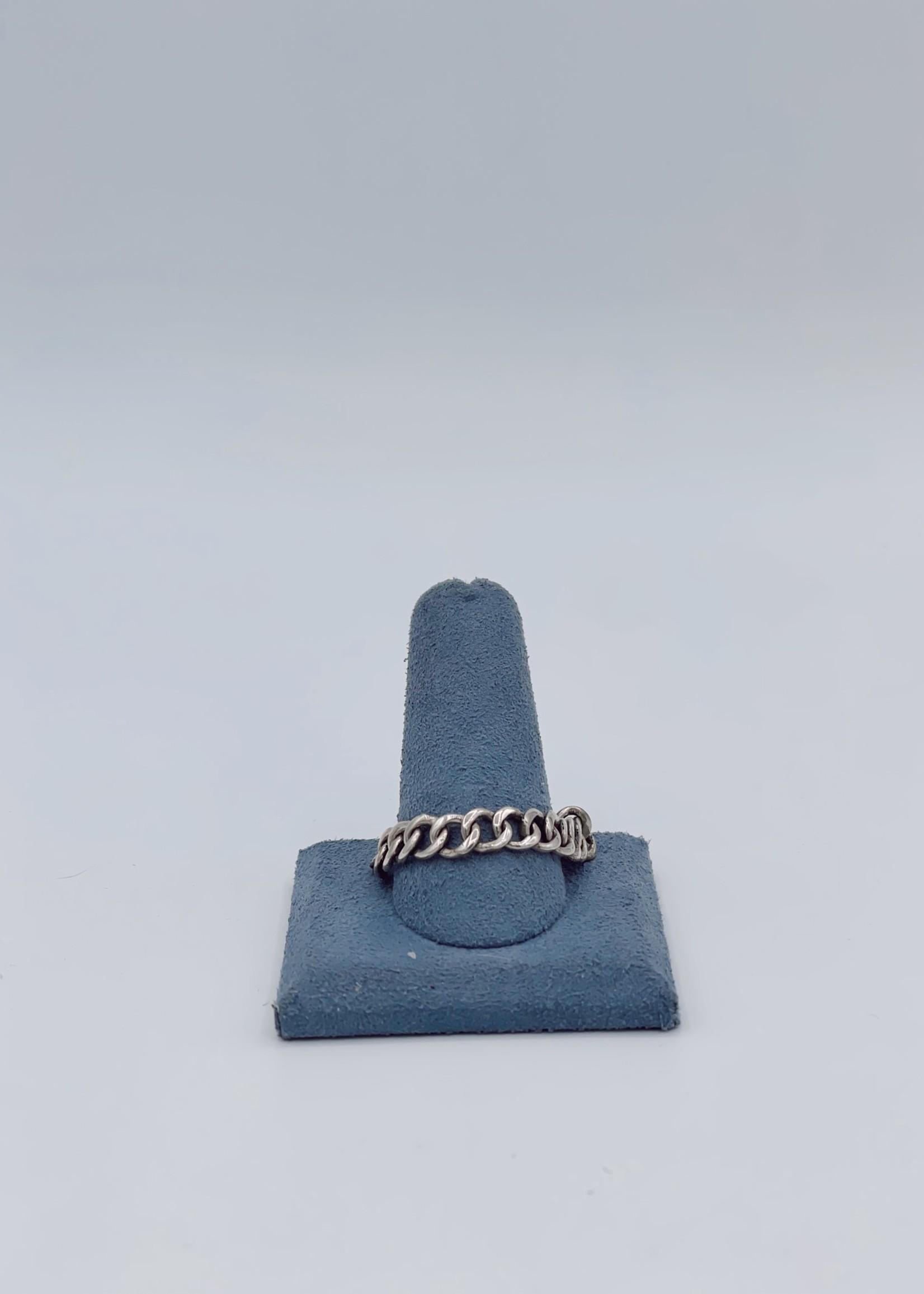 CJ Designs Sterling Silver Chain Ring