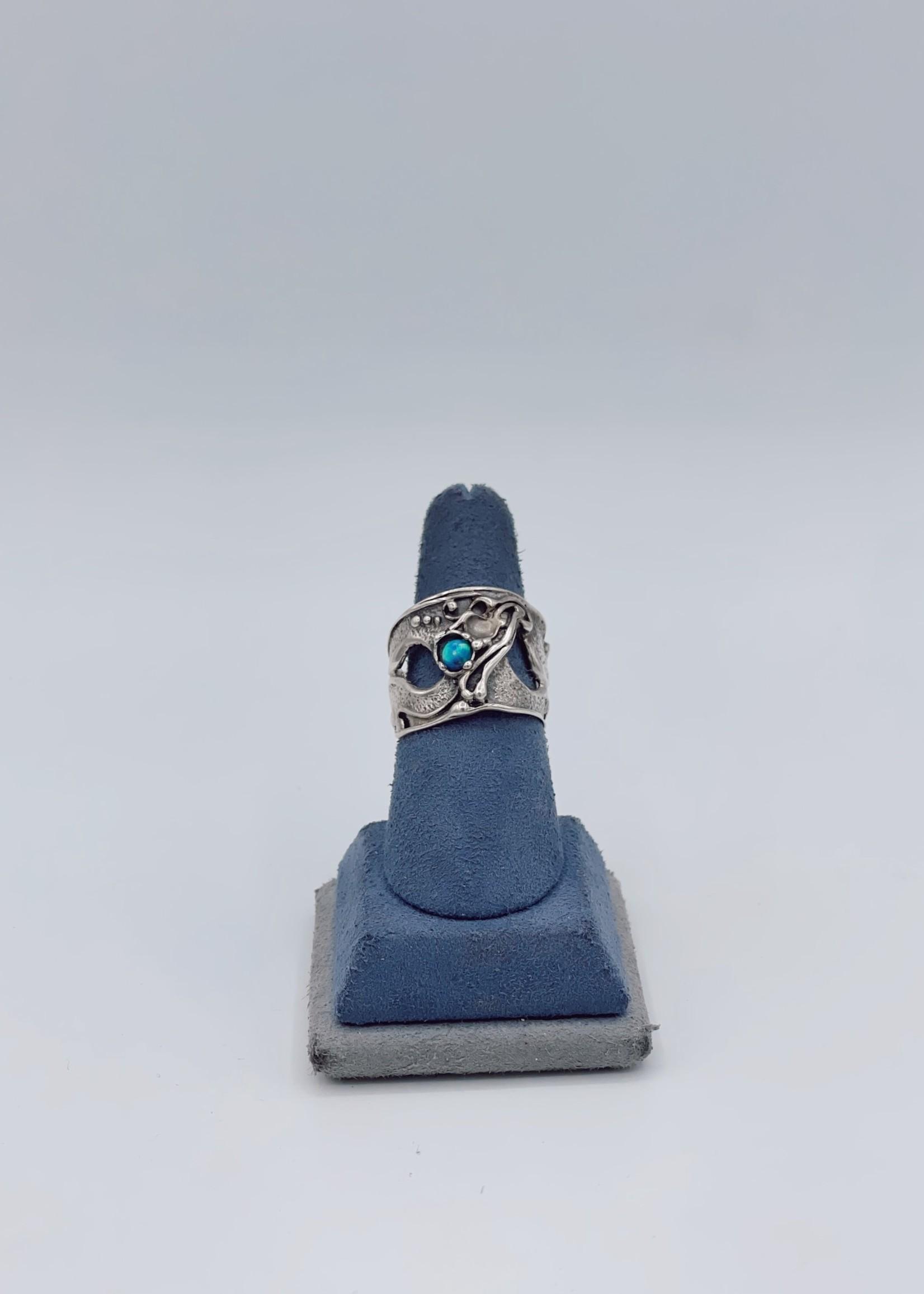 Estate Estate Turquoise Gem Ring