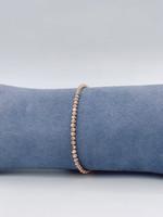 Officina Bernardi Sterling Silver Rose Bracelet