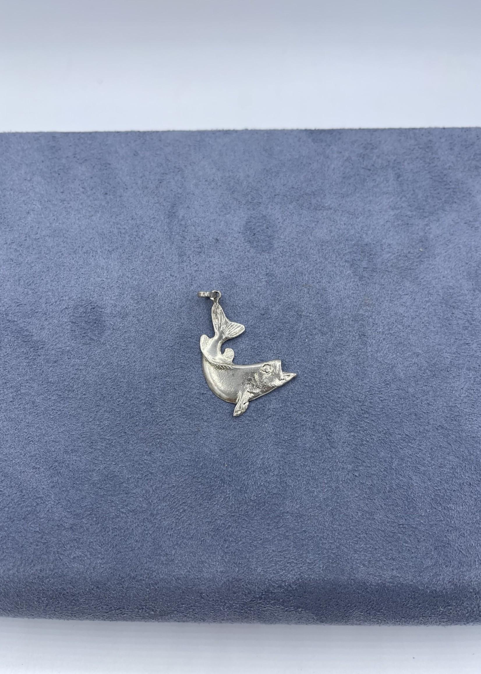 CJ Designs Fish Pendant Sterling Silver