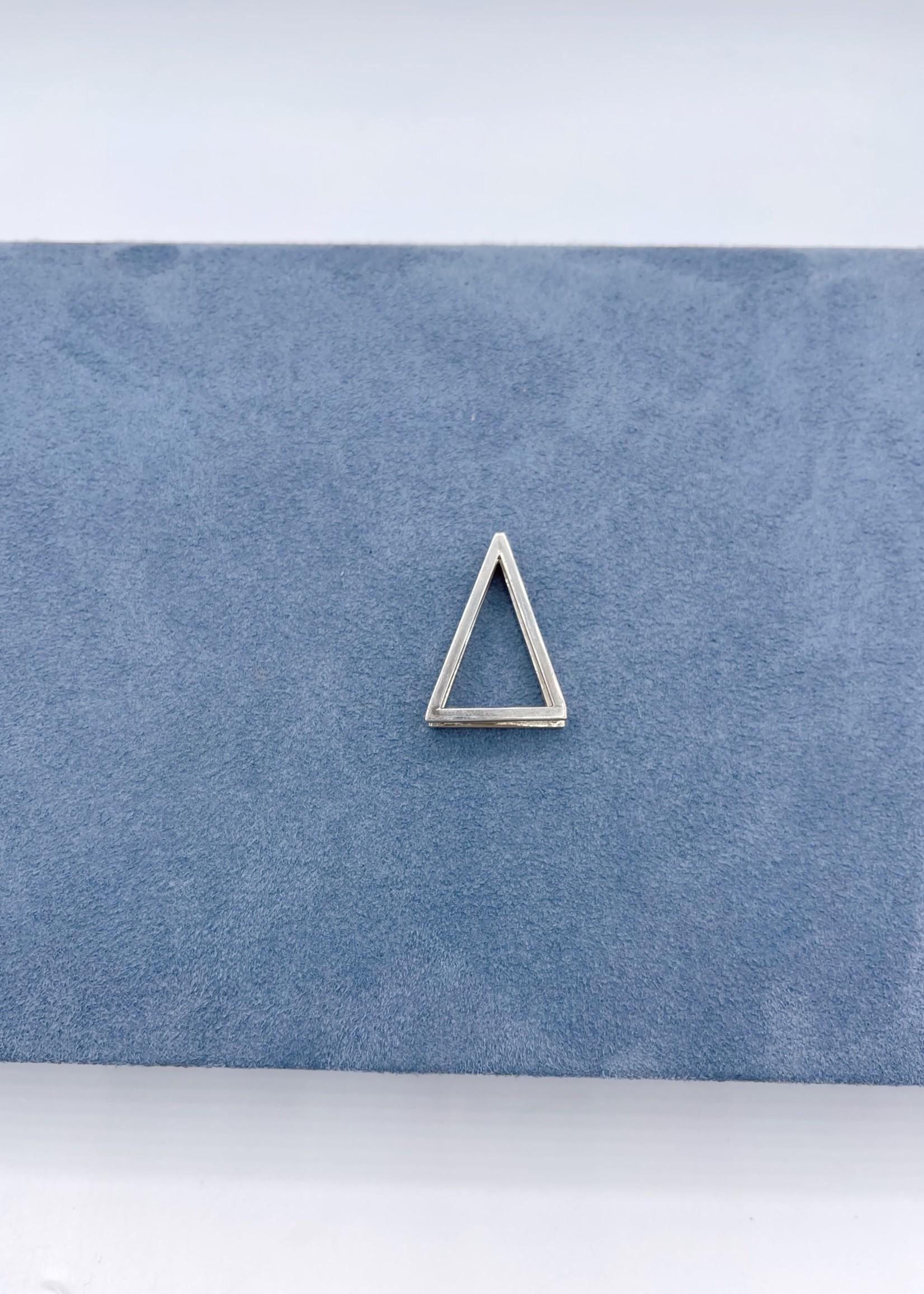 CJ Designs Triangle Pendant Sterling Silver