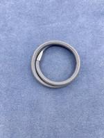 Stardom Grey Small Leather Charm Bracelet