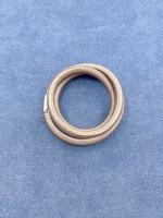 Stardom Brown Leather Charm Bracelet