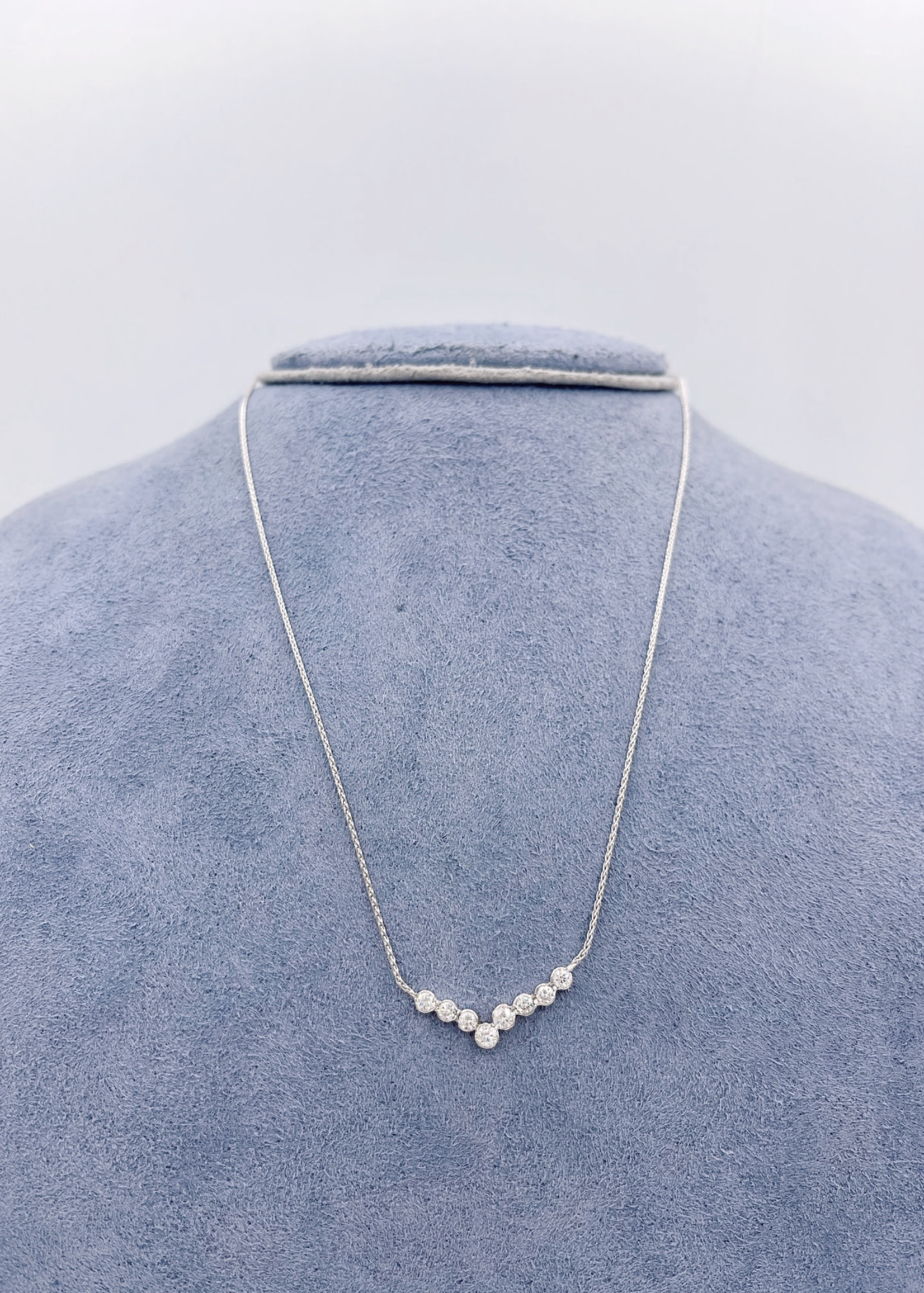 CJ Designs Diamond Necklace 14k White