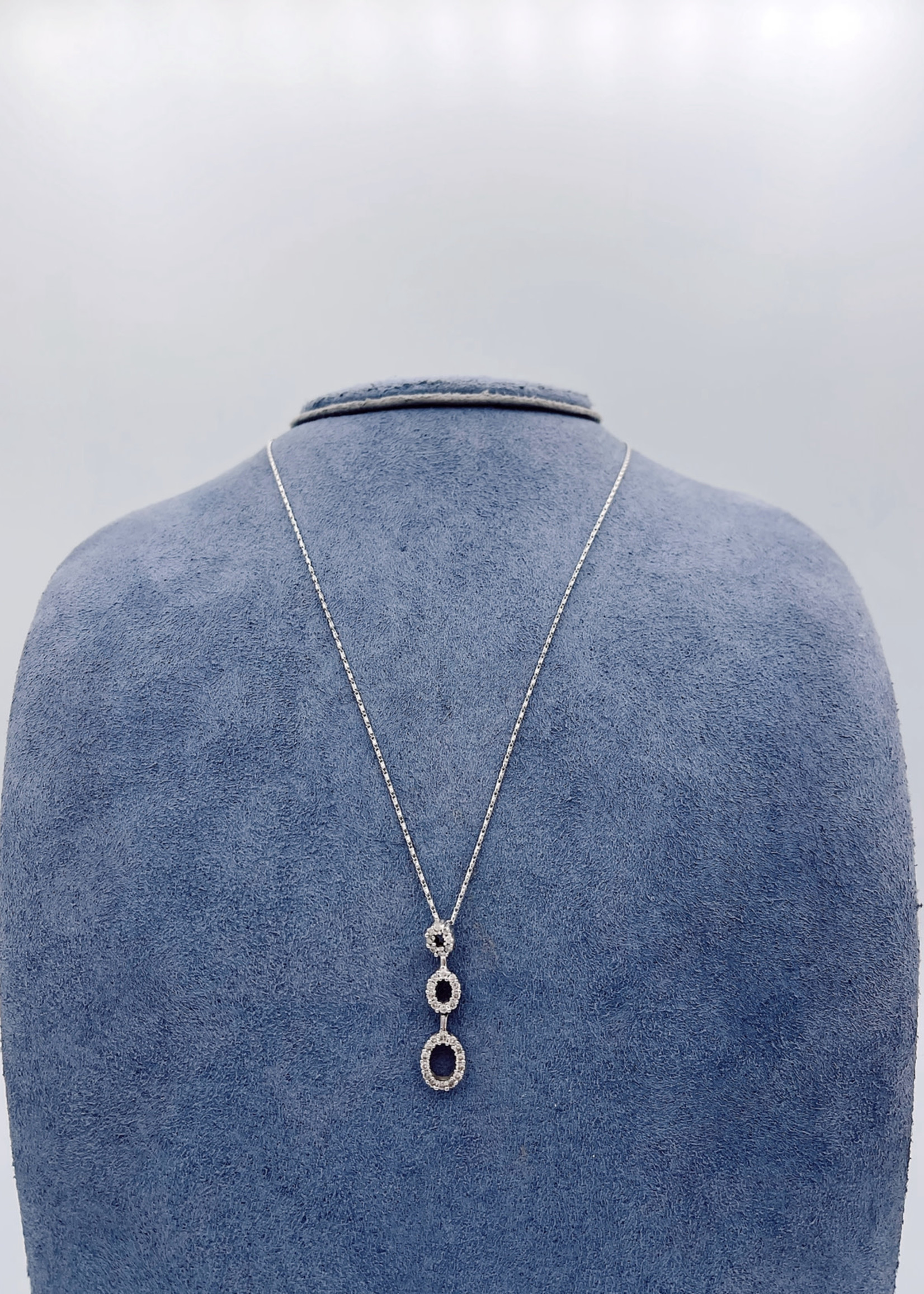 CJ Designs Diamond Drop Necklace