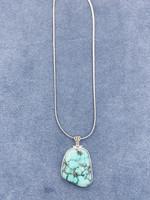CJ Designs Turquoise Stone Pendant