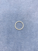 Guertin Brothers Center Ring  14k Yellow Size 9