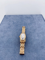 Belair Time Corp Ladies Rose Gold Plate Band Watch