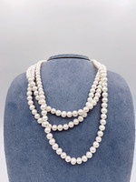"""China Pearl FWP Endless Necklace 7-8mm 64"""""""