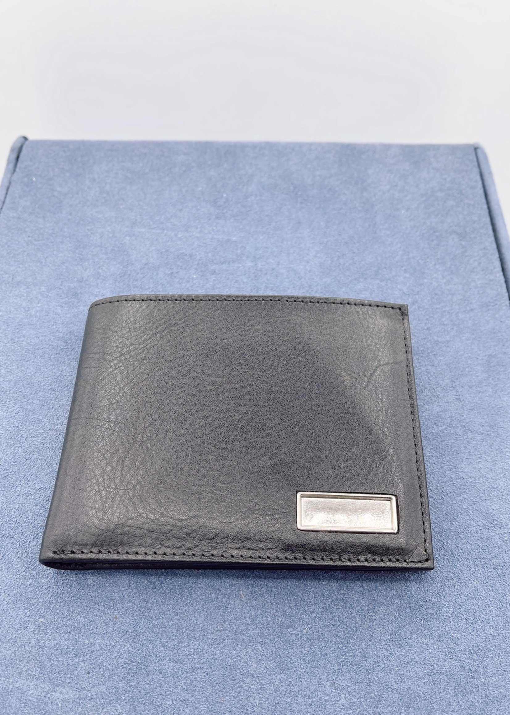 Legere Black Leather Wallet
