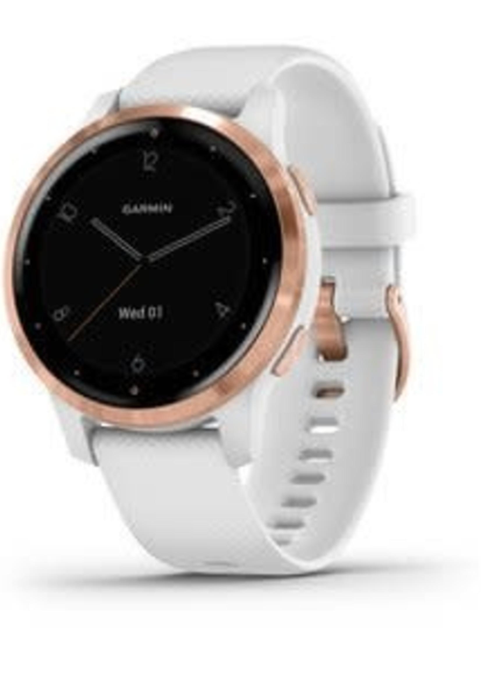 Garmin Garmin Watch Vivoactive, White/Rose Gold