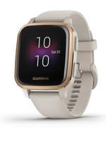 Garmin Garmin Watch Venu, Rose Gold Aluminum with Light Sand Case / Silicone Band