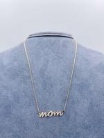 CJ Designs Mom 14k Y Necklace