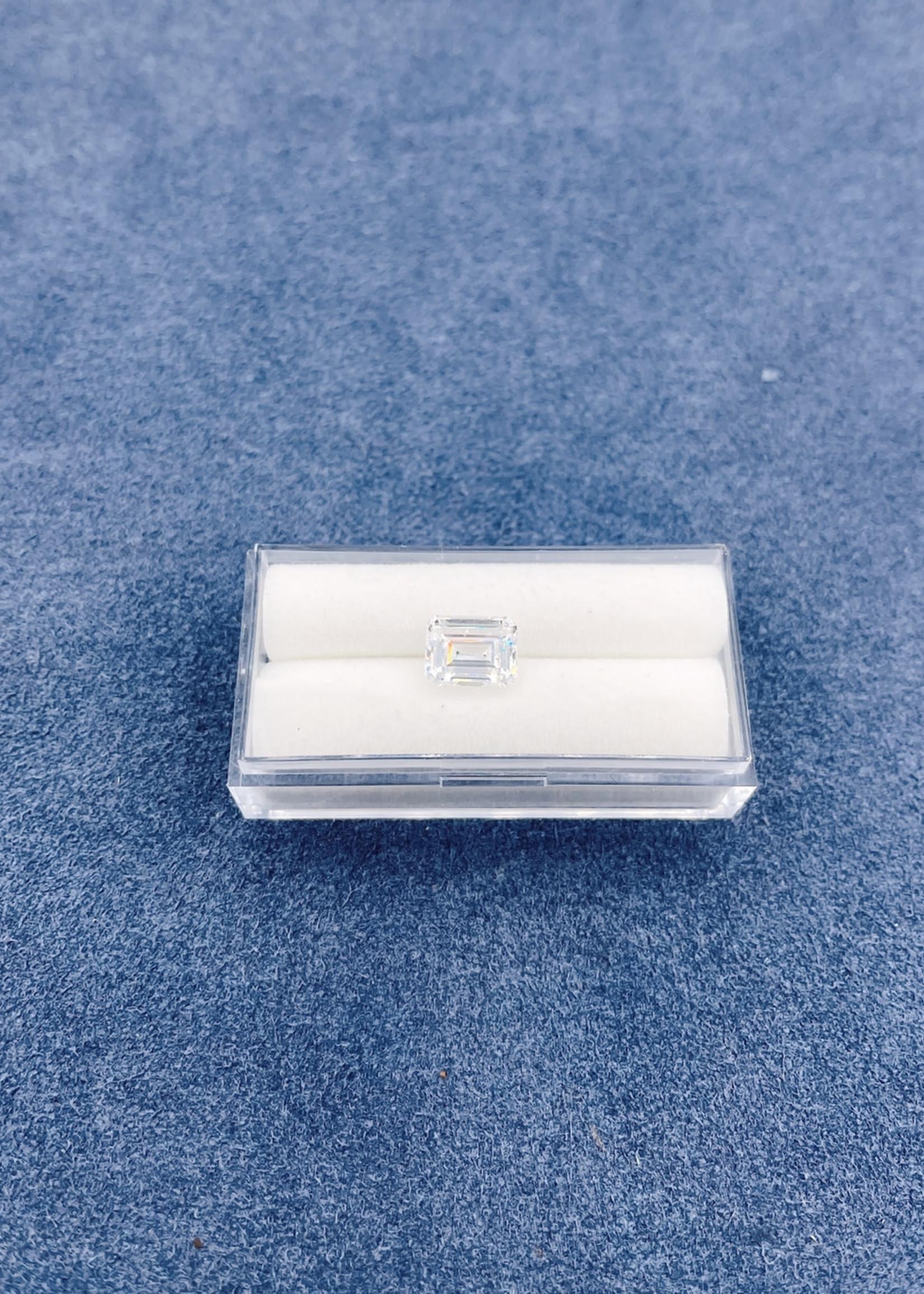 Lannyte Lannyte Emerald Cut 4.50cts 9x7mm White
