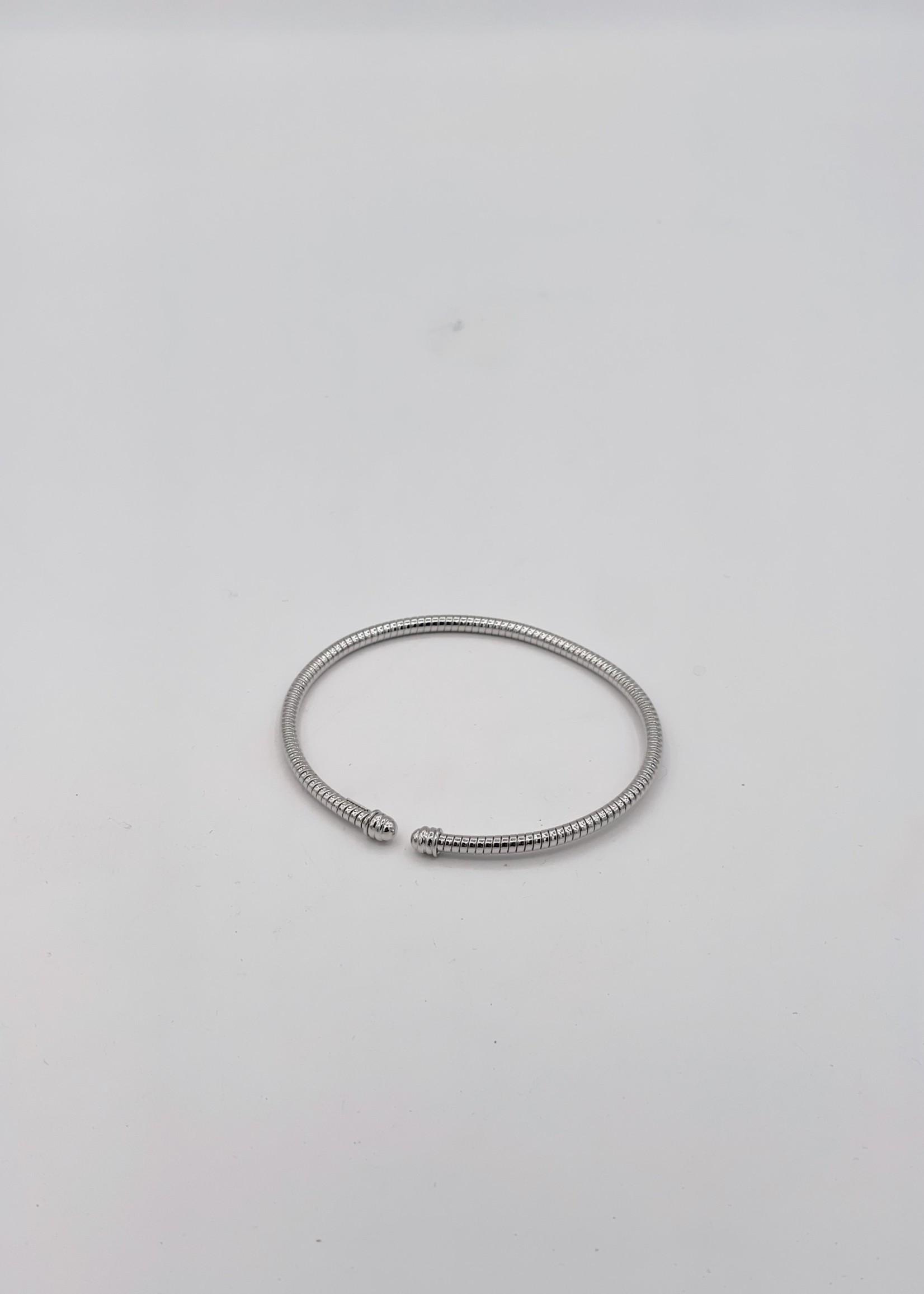 Herco White Gold14k Bangle Bracelet