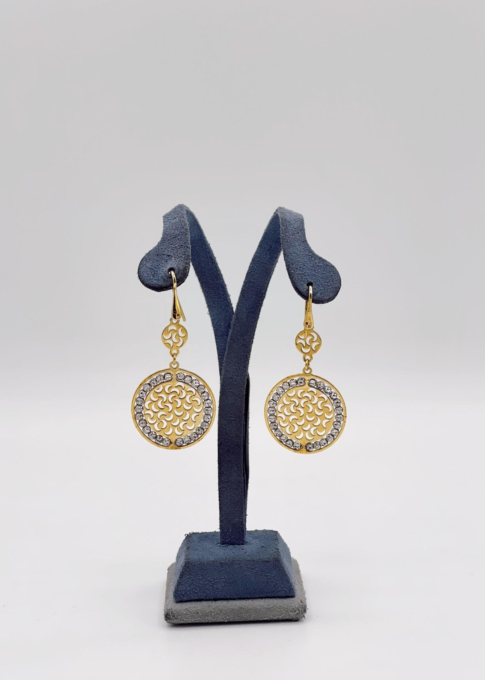 Officina Bernardi Sole Drop Earrings