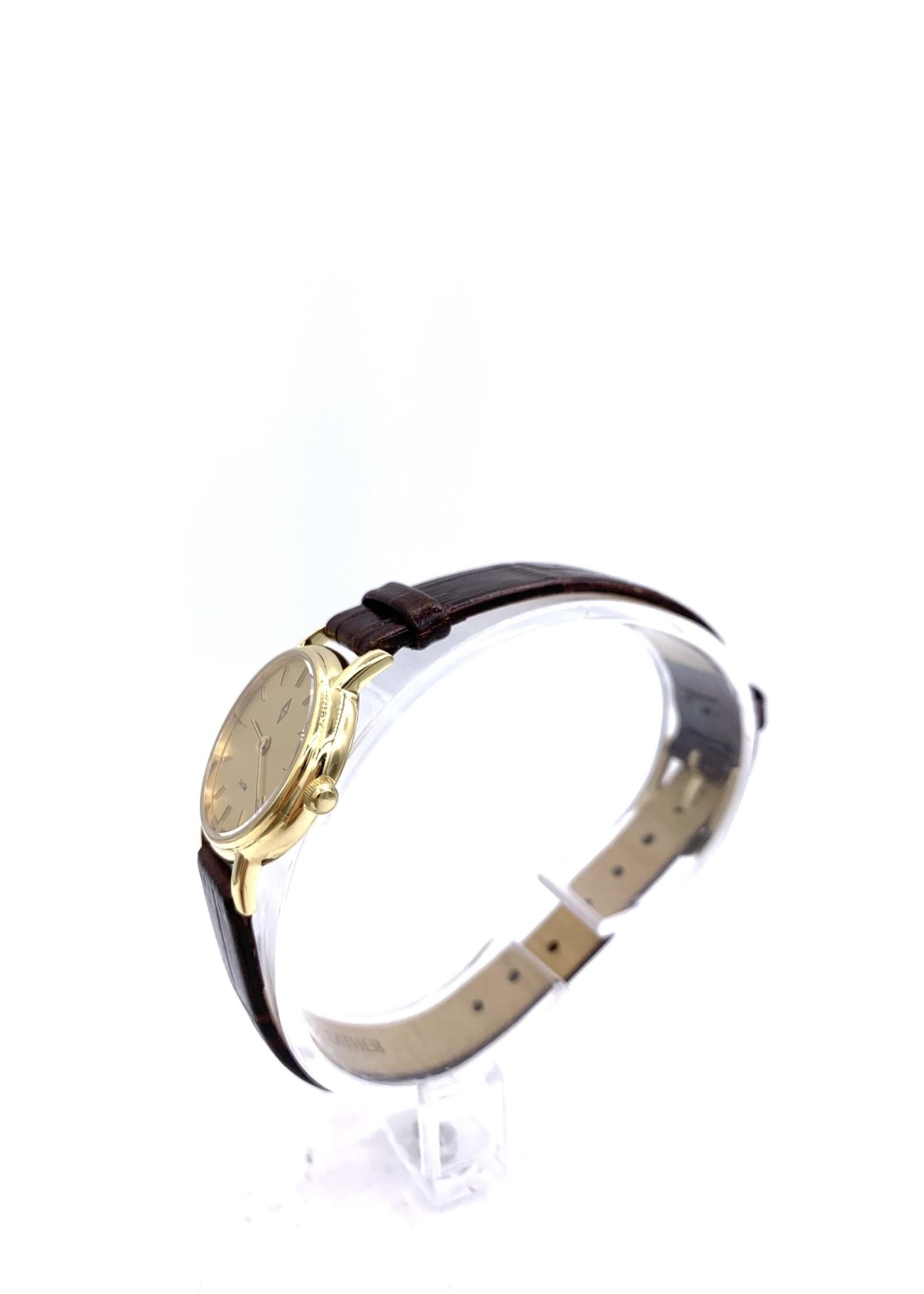 Belair Time Corp CJ Watch 3ATM LDS 14K Ultra T Watch