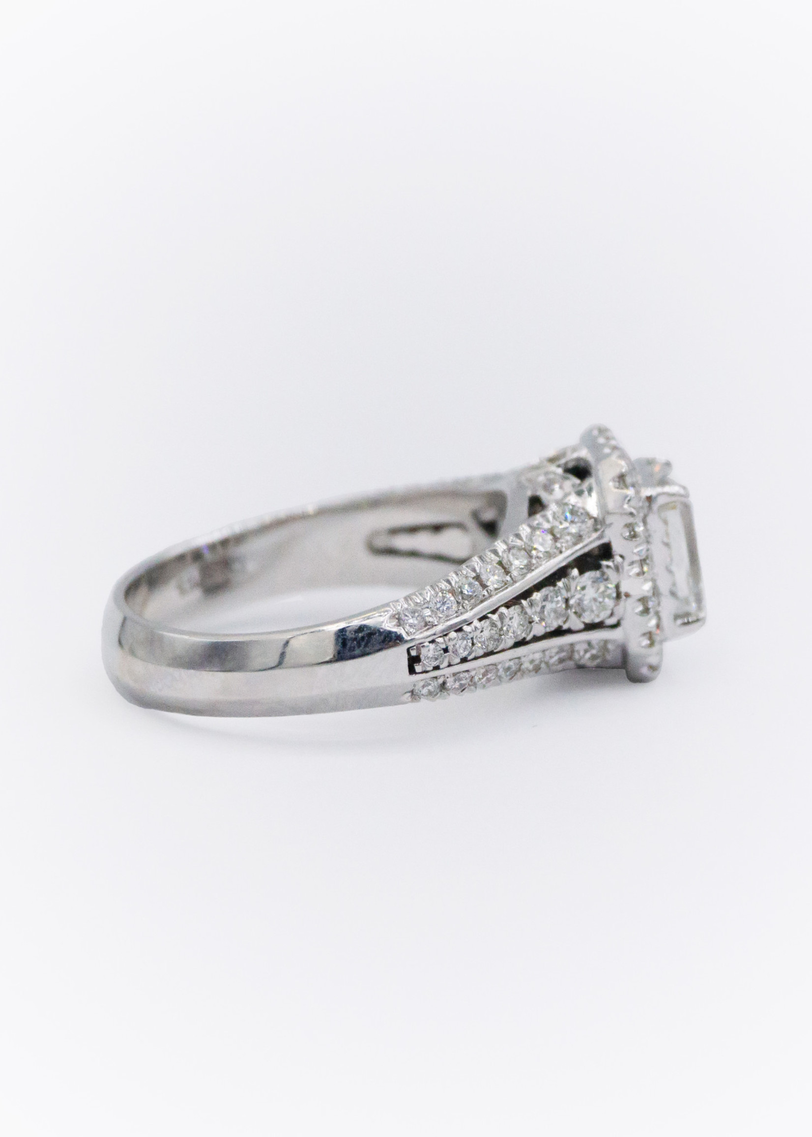 Christopher Design Eng 18kW w/ 1.13ct Criss VS1 I Color Dia, GIA