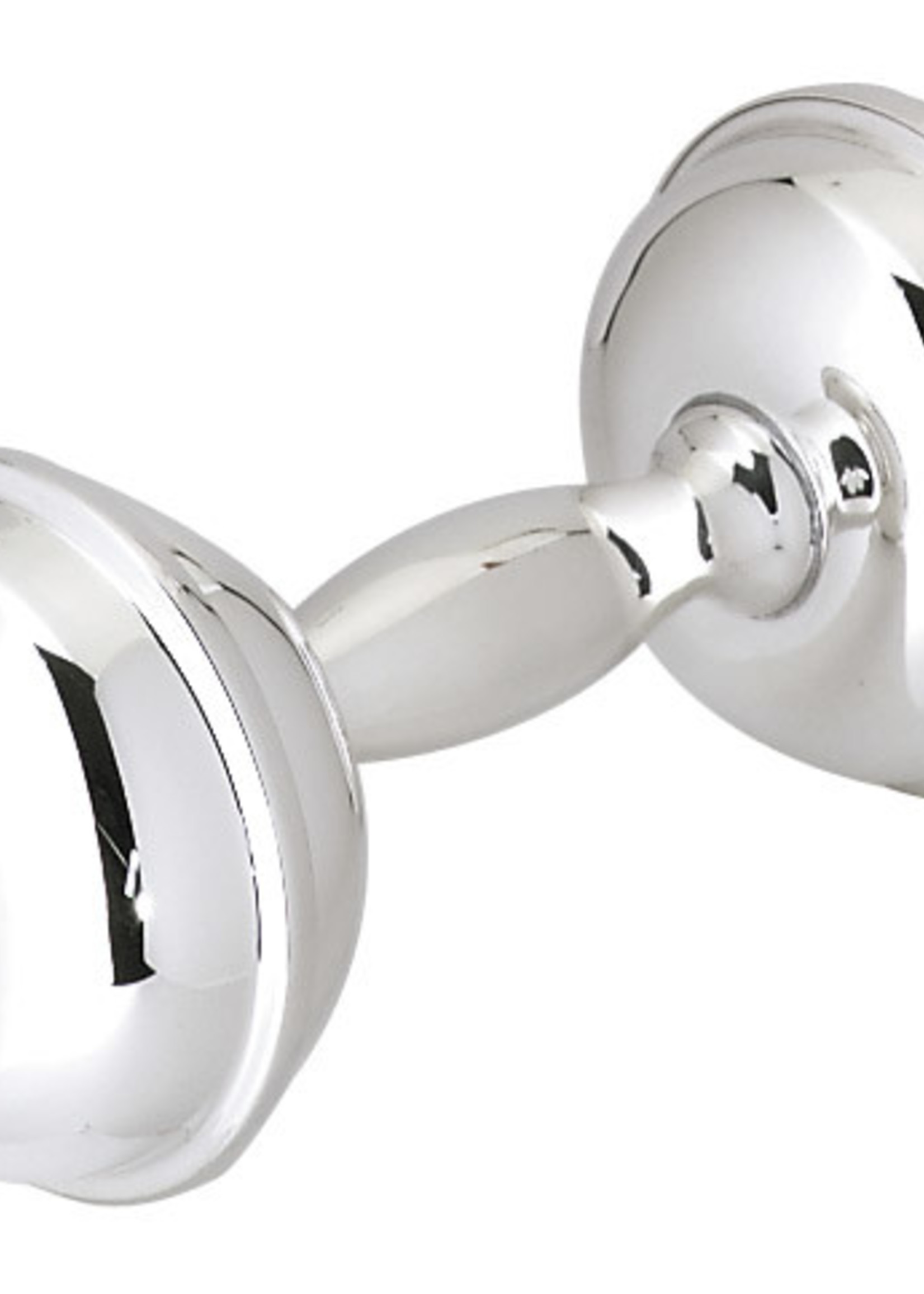 Marathon Company Sterling Silver Barbell Rattle
