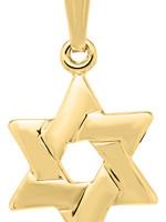 Marathon Company Star of David Pendant Necklace 14k Yellow